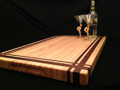 Handmade Kitchen Cabinets buy a custom large rock maple and black walnut cutting