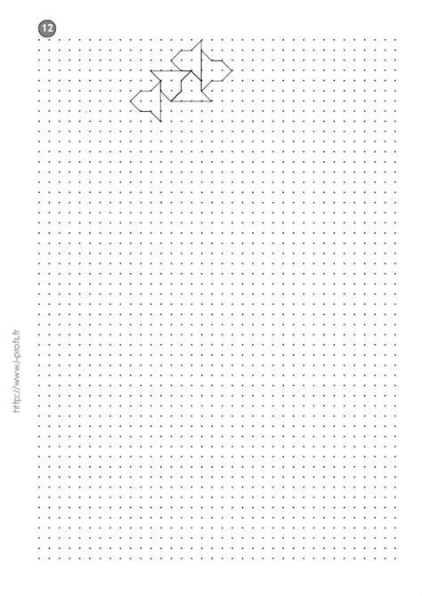 cm2: Exercices Les REPRODUCTIONS DE PAVAGES géométriques