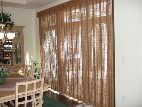 blinds or drapes curtains for sliding doors with blinds curtain