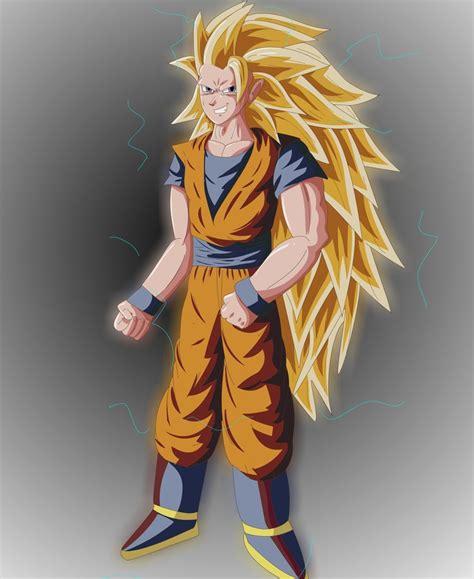 Goku Ss3 ss3 goku by bocodamondo on deviantart