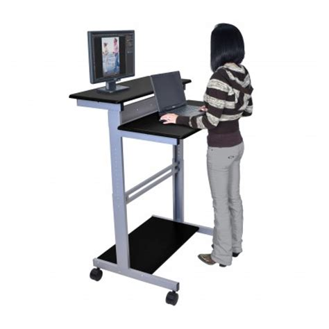 Standup Computer Desk Stand Up Desks Increase Productivity And Decrease Discomfort Study Finds Work Table