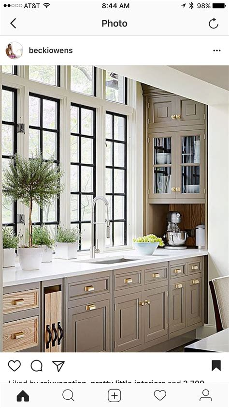 kitchen cabinets with windows muted colors with black windows kitchen design love