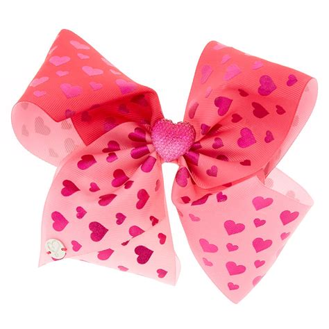 valentines hair bows jojo siwa large cupid s cutie s day hair bow