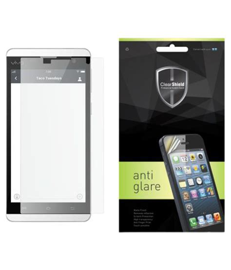 Tempered Glass Clear Vivo vivo y28 tempered glass screen guard by clear shield