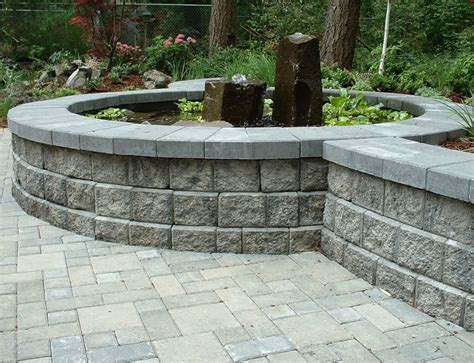 garden blocks for retaining wall retaining wall blocks landscaping network