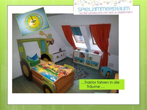 Kinderzimmer Junge Traktor by Kinderzimmer Baustelle
