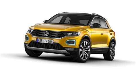 volkswagen family car volkswagen reveals new suv t roc family car review