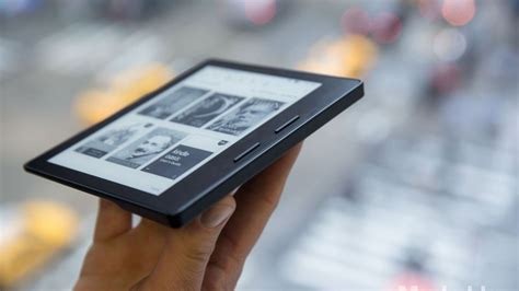 amazon oasis the amazon kindle oasis looks shockingly different