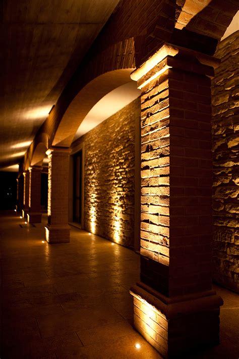 illuminazione portico illuminazione led per portico casa in pietra tecnocavi