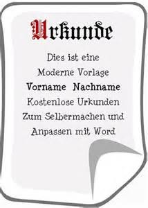Moderne Urkundenvorlage Moderne Urkunde Zum Drucken