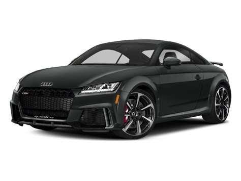New Audi 2018 Models by New 2018 Audi Tt Rs Prices Nadaguides