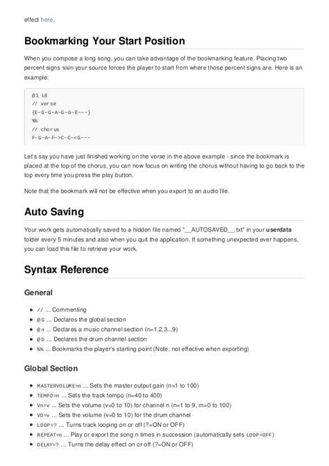 Modulator 022 Player beepcomp chiptune creator user s guide v0 2 2