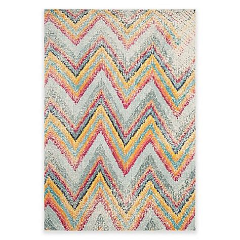 safavieh chevron rug safavieh monaco chevron multicolor area rug bed bath