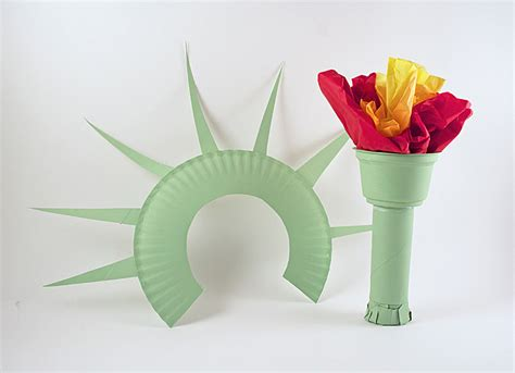 Statue Of Liberty Crown And Torch Noise Maker Crafts By