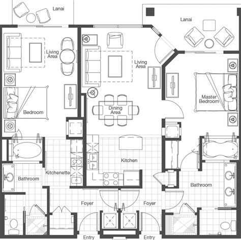 westin kierland villas floor plan westin kierland villas floor plan thefloors co