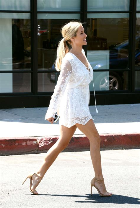 Kristin Dress kristin cavallari in white mini dress 05 gotceleb