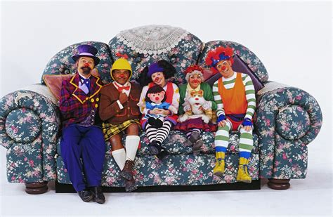 the big comfy couch characters the big comfy couch