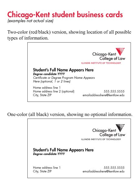 Of Chicago Business Cards business cards chicago fragmat info