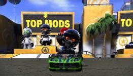 Cd Modnation Racers review modnation racers n4g