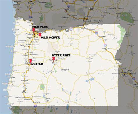map of oregon golf courses bullseye disc golf quot disc golf just got even more addictive quot