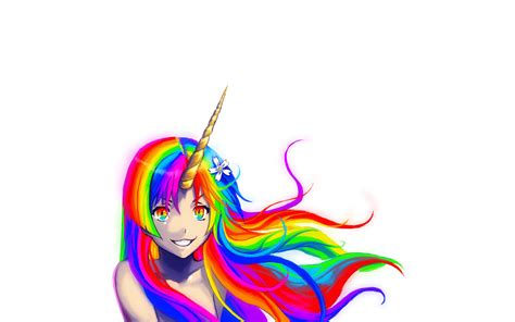 wallpaper rainbow cartoon unicorn rainbow wallpapers wallpapersafari