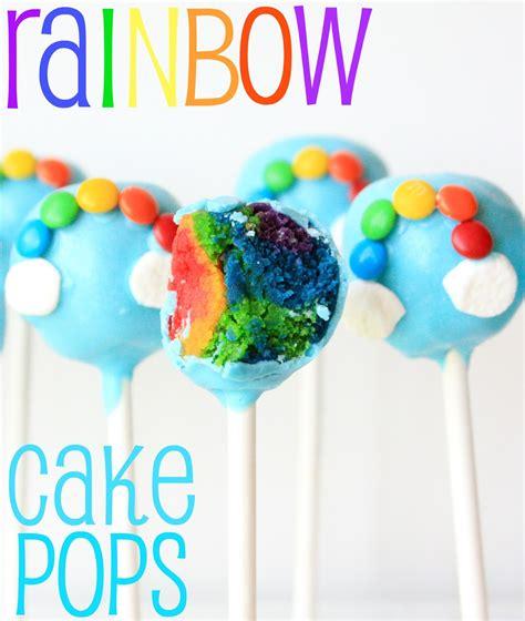 cake pops ideas munchkin munchies rainbow cake pops