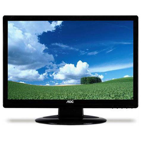 Monitor Aoc N950sw aoc 18 5inch 5ms 60 000 1 dcr black widescreen tft monitor n950sw from overclock co uk