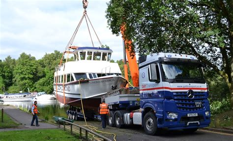 boat transport uk prices galt transport deliver loch lomond s newest addition