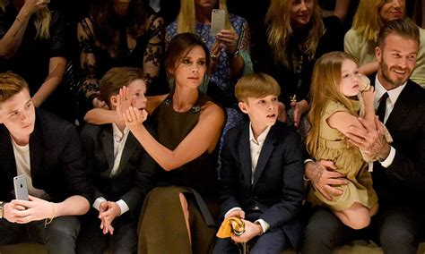 Beckham To With The by The Beckhams Prepare To Move Into Their Home