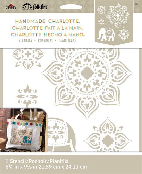 Handmade Stencils - folkart 174 handmade charlotte stencils tangier jo