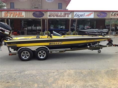 bullet boats used used power boats bass bullet boats for sale boats