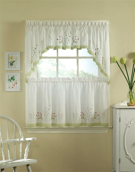 kitchen tier curtains furniture ideas deltaangelgroup