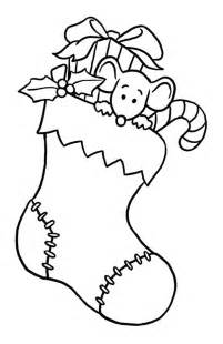 christmas stockings coloring pages free christmas