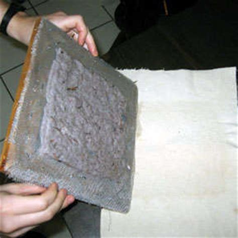 How To Make Paper Out Of Lint - turn dryer lint into paper the go green
