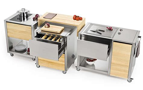 mobile kitchen island units 3rings modular and mobile kitchen trend