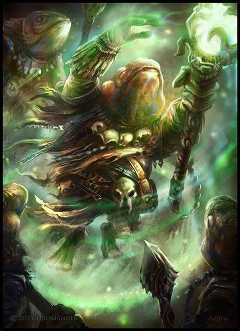 painting agame agame warder by monpuasajr on deviantart