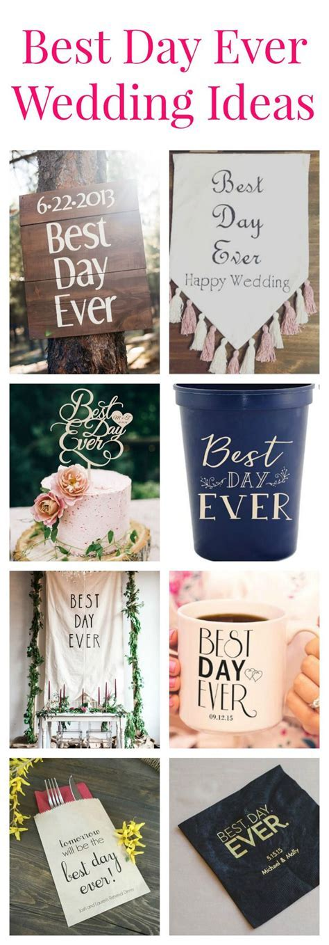 The Best Day Ever Decorations   Rustic Wedding Chic