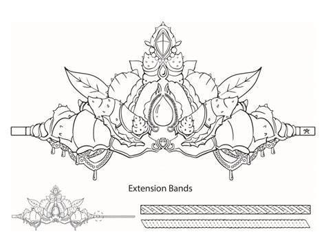 free printable mermaid crown printable mermaid crown finfriends