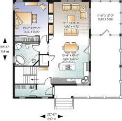 thehousedesigners small house plans the gallagher 2022 1 bedroom and 1 5 baths the house