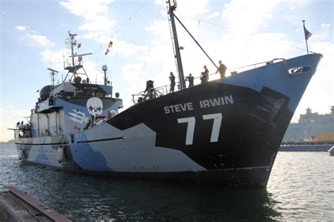 sea shepherd steve irwin sinks nationstates view topic the western isles news