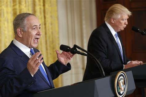 donald trump dan israel garis keras israel senang trump tak dukung solusi dua