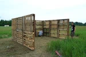 how to make a shed out of wood pallets nortwest