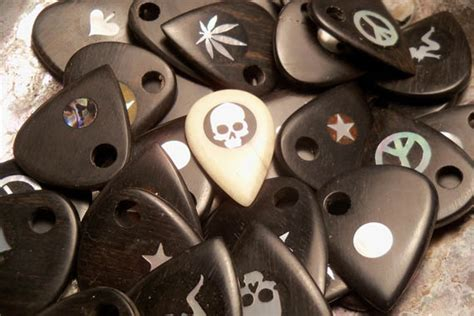 Handmade Guitar Picks - brossard handmade guitar picks cool material