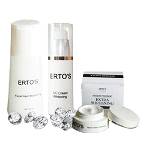 Serum Cc Ertos 3pcs ertos paket lengkap cc day