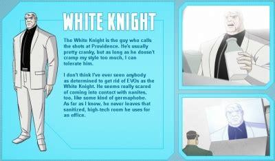 character biography generator white knight generator rex characters sharetv