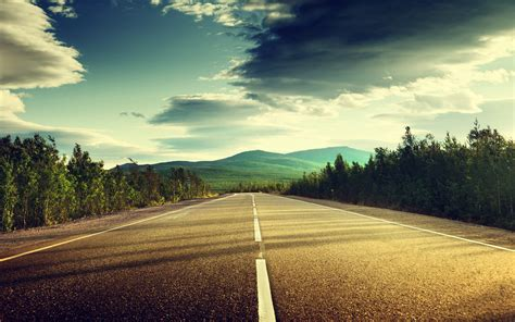 road wallpaper high quality resolution landscape