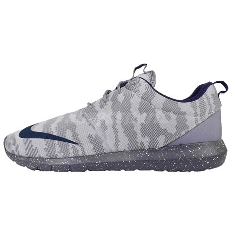 Original Nike Roshrun nike roshe nm fb flat silver grey camo roshrun mens