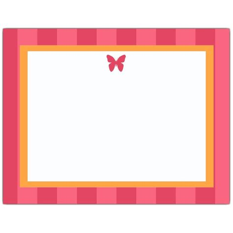 Good Christmas Return Address Labels Free #3: Pink-Butterfly-Note-Cards-p-628-54-010-z.jpg