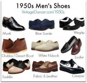 vintage style 1950s men's shoes | rockabilly boots & shoes