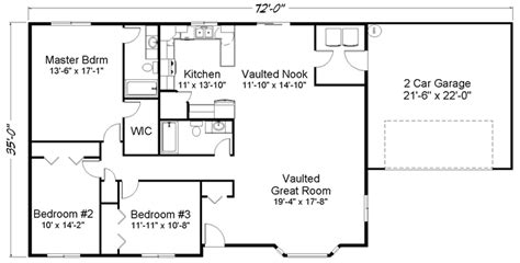 1 story open floor plans lake house floor plans 1 story lake house open floor plans